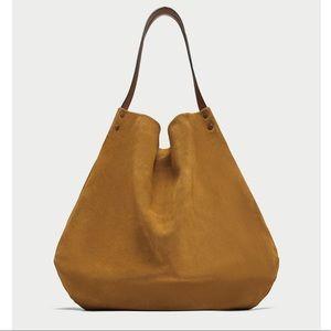 🌷NWT leather bucket bag